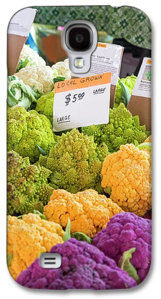 Cauliflower Market Stall Galaxy S4 Case by Jim West