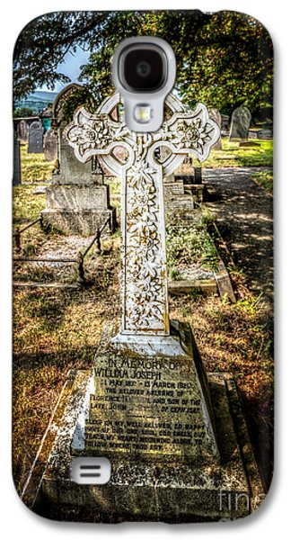 Cemetary Galaxy S4 Cases - Celtic Cross Galaxy S4 Case by Adrian Evans