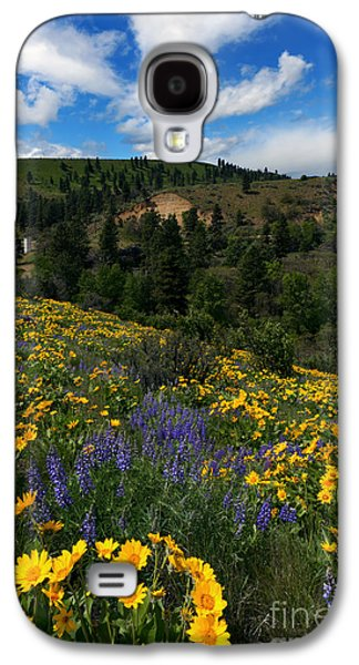 Silos Galaxy S4 Cases - Central Washington Spring Galaxy S4 Case by Mike Dawson