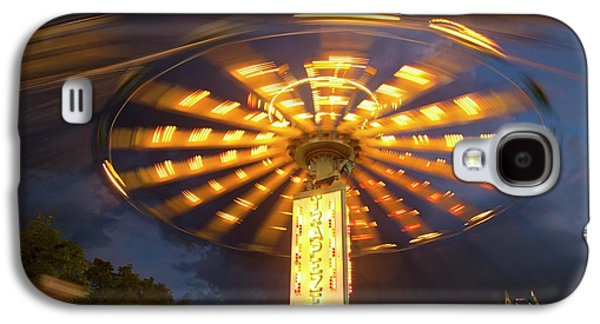 Chair Swing Fairground Ride Galaxy S4 Case by Jim West