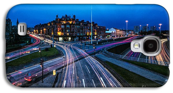 Sunset Greeting Cards Galaxy S4 Cases - Charing Cross Glasgow Galaxy S4 Case by John Farnan