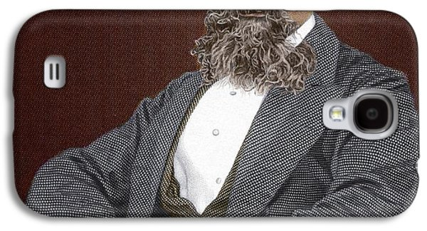 Recently Sold -  - Person Galaxy S4 Cases - Charles Dickens, British Author Galaxy S4 Case by Sheila Terry