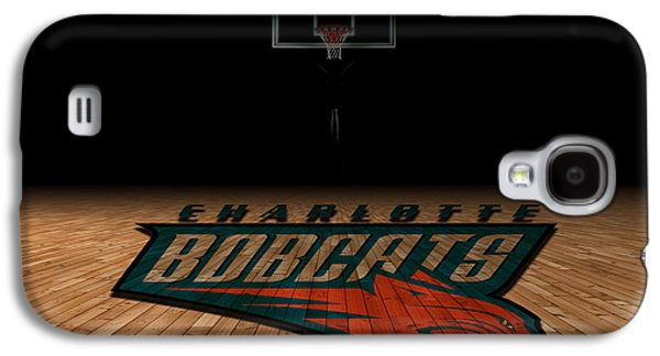 Charlotte Photographs Galaxy S4 Cases - Charlotte Bobcats Galaxy S4 Case by Joe Hamilton