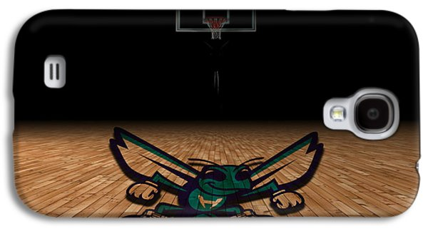 Dunk Galaxy S4 Cases - Charlotte Hornets Galaxy S4 Case by Joe Hamilton