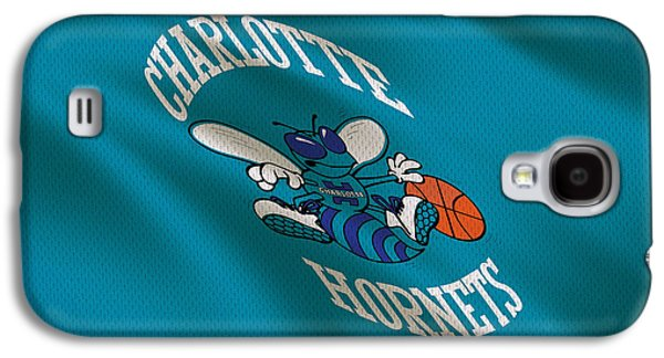 Charlotte Photographs Galaxy S4 Cases - Charlotte Hornets Uniform Galaxy S4 Case by Joe Hamilton