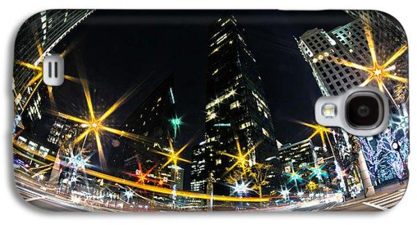 Charlotte Nc Usa - Nightlife Around Charlotte Galaxy S4 Case by Alexandr Grichenko