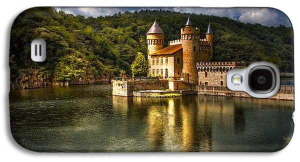 Fantasy Galaxy S4 Cases - Chateau de la Roche Galaxy S4 Case by Debra and Dave Vanderlaan