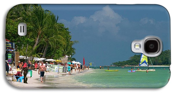 Chaweng Beach And The Gulf Of Thailand Galaxy S4 Case by David R. Frazier