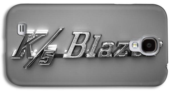 Recently Sold -  - Transportation Photographs Galaxy S4 Cases - Chevrolet K5 Blazer Emblem Galaxy S4 Case by Jill Reger