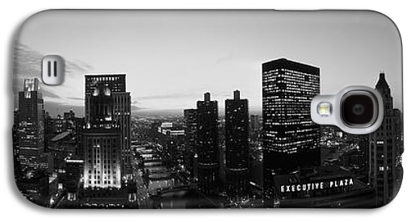 River View Galaxy S4 Cases - Chicago, Illinois, Usa Galaxy S4 Case by Panoramic Images