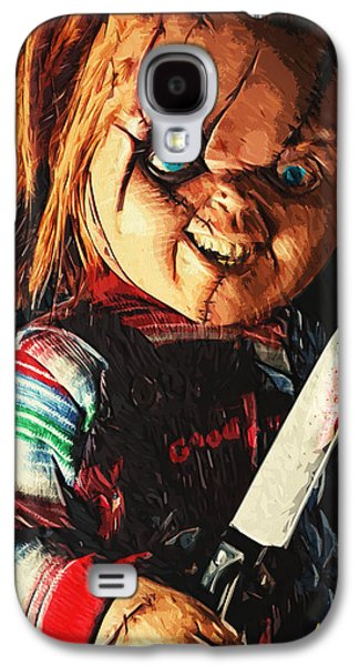 Recently Sold -  - Creepy Galaxy S4 Cases - Chucky Galaxy S4 Case by Taylan Soyturk