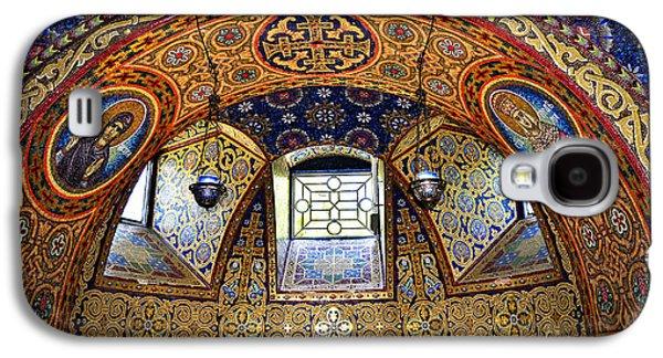 Mosaic Galaxy S4 Cases - Church interior Galaxy S4 Case by Elena Elisseeva