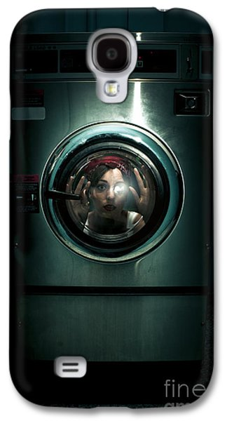 Hair-washing Galaxy S4 Cases - Cleaning Problems Galaxy S4 Case by Ryan Jorgensen