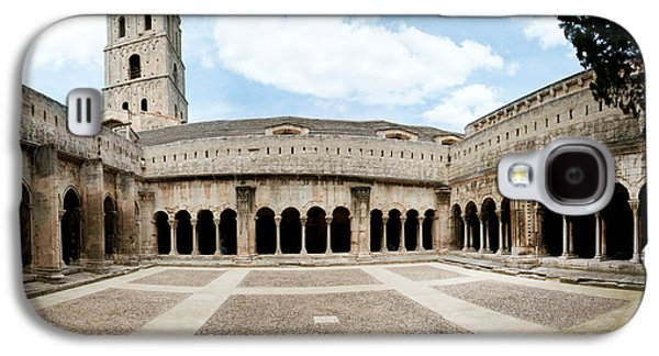 Arles Galaxy S4 Cases - Cloister Of St. Trophime, Church Of St Galaxy S4 Case by Panoramic Images