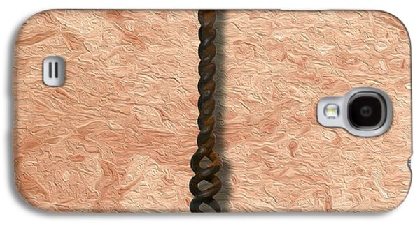Clough Corkscrew Painting 2 Galaxy S4 Case by Jon Neidert