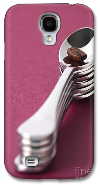 Coffee Drinking Galaxy S4 Cases - Coffee Bean Galaxy S4 Case by HD Connelly