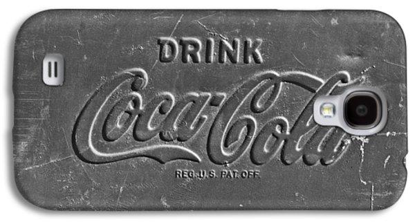 Coca-cola Signs Galaxy S4 Cases - Coke Sign Galaxy S4 Case by Jill Reger