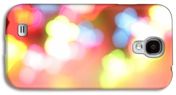 Light Galaxy S4 Cases - Color blurs Galaxy S4 Case by Les Cunliffe