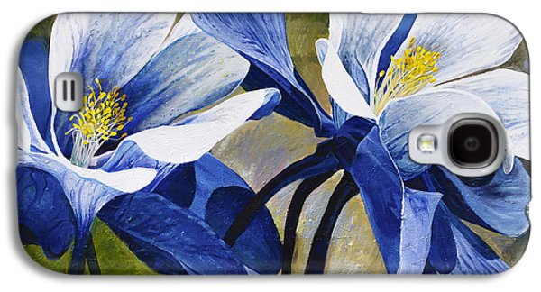 Beauty Galaxy S4 Cases - Colorado Columbines Galaxy S4 Case by Aaron Spong
