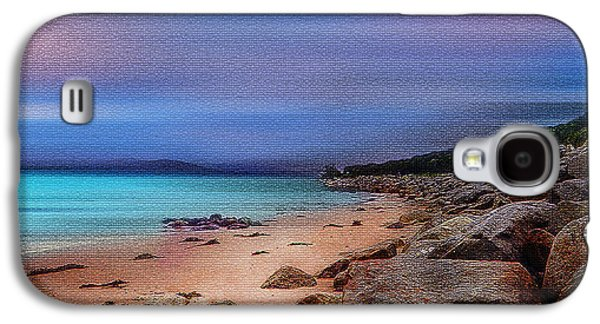 Architecture Tapestries - Textiles Galaxy S4 Cases - Colorful Beach Galaxy S4 Case by Mihai Medves