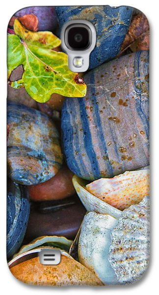 Abstracted Galaxy S4 Cases - Colourful Stones Galaxy S4 Case by David Pringle