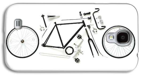 Components Of A Road Bike Galaxy S4 Case by Science Photo Library