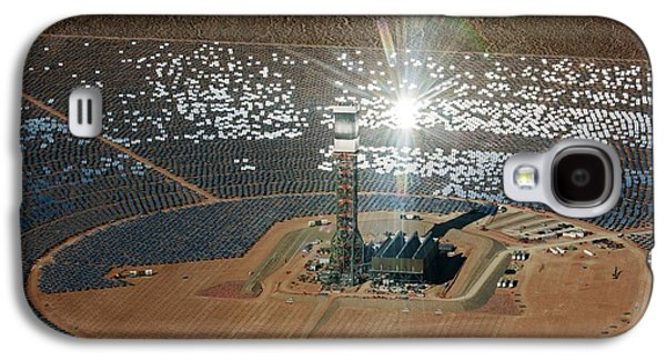 Concentrating Solar Power Plant Galaxy S4 Case by Jim West