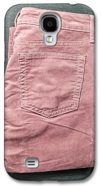 Stitch Galaxy S4 Cases - Corduroy trousers Galaxy S4 Case by Tom Gowanlock