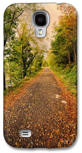 Hdr Landscape Galaxy S4 Cases - Country Lane Galaxy S4 Case by Adrian Evans