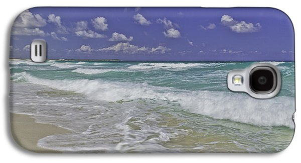 Beach Landscape Galaxy S4 Cases - Cozumel Paradise Galaxy S4 Case by Chad Dutson