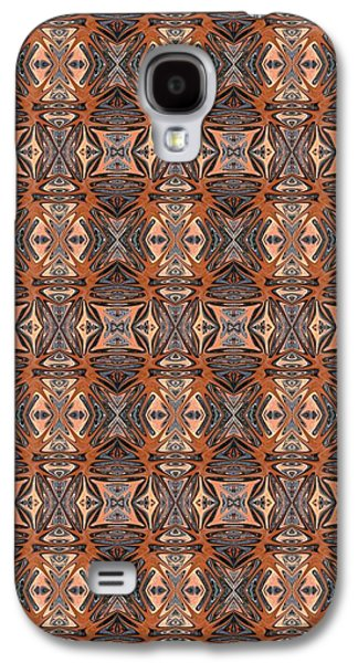 Abstract Digital Tapestries - Textiles Galaxy S4 Cases - CrazieArt Designs by Thia - Blair Galaxy S4 Case by Thia Stover