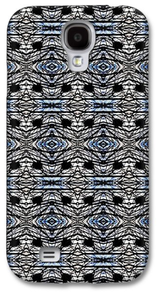 Abstract Digital Tapestries - Textiles Galaxy S4 Cases - CrazieArt Designs by Thia - Olivia Galaxy S4 Case by Thia Stover