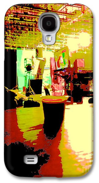 Behind The Scenes Digital Galaxy S4 Cases - Cuban Coffee on Stage Galaxy S4 Case by Diane Phelps