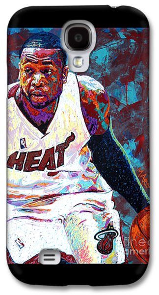 D. Wade Galaxy S4 Case by Maria Arango