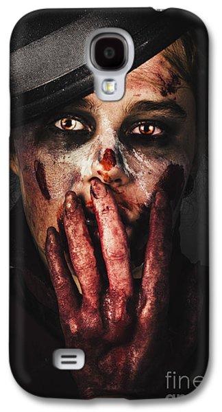 Ghastly Galaxy S4 Cases - Dark face of fear. Fright night Galaxy S4 Case by Ryan Jorgensen
