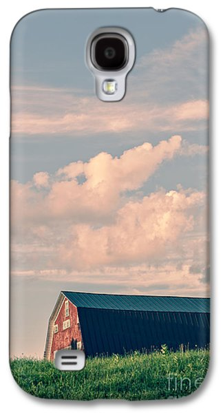 New England Barns Galaxy S4 Cases - Day is done Galaxy S4 Case by Edward Fielding