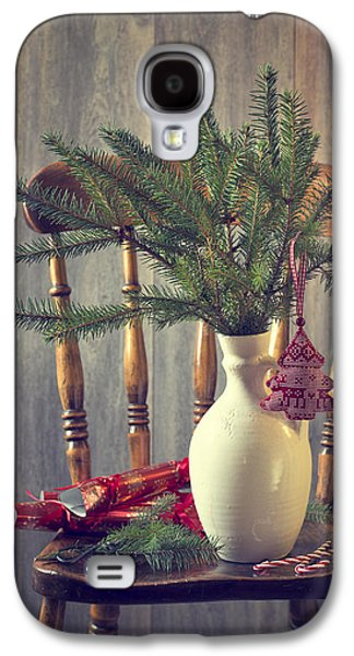 Celebration Photographs Galaxy S4 Cases - Decorating For Christmas Galaxy S4 Case by Amanda And Christopher Elwell