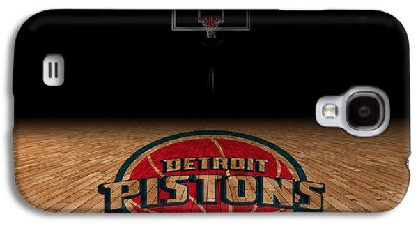 Dunk Galaxy S4 Cases - Detroit Pistons Galaxy S4 Case by Joe Hamilton