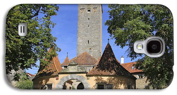 Deutschland Galaxy S4 Cases - Deutschland, Bayern, Rothenburg Ob Der Galaxy S4 Case by Tips Images