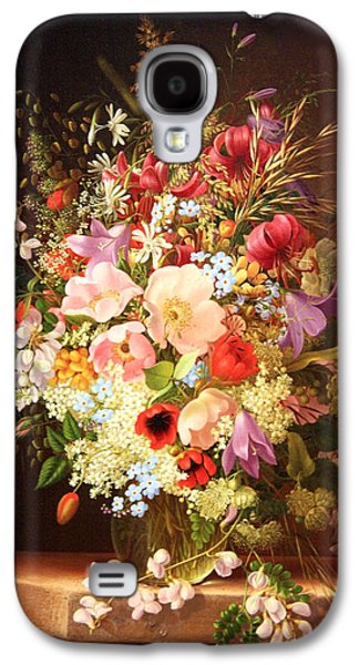 Cora Wandel Galaxy S4 Cases - Dietrichs Still Life Of Flowers Galaxy S4 Case by Cora Wandel