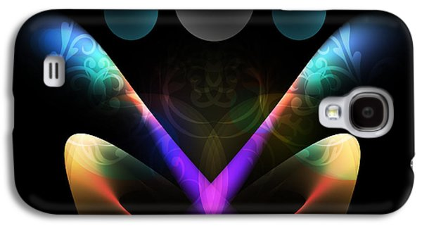 Abstract Digital Galaxy S4 Cases - Digital Joy Galaxy S4 Case by Anthony Caruso