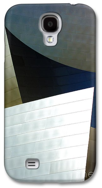 Metal Sheet Galaxy S4 Cases - Disney Concert Hall 14 Galaxy S4 Case by Micah May