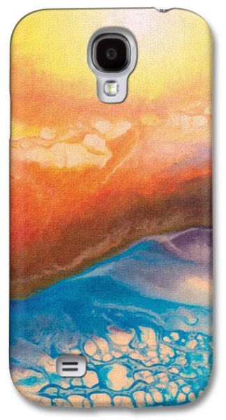 Abstract Landscape Drawings Galaxy S4 Cases - Disquieting Anticipation Galaxy S4 Case by Jeanette Charlebois