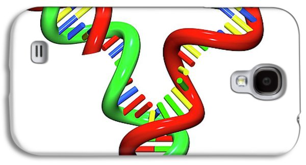 Dna Replication Galaxy S4 Case by Russell Kightley