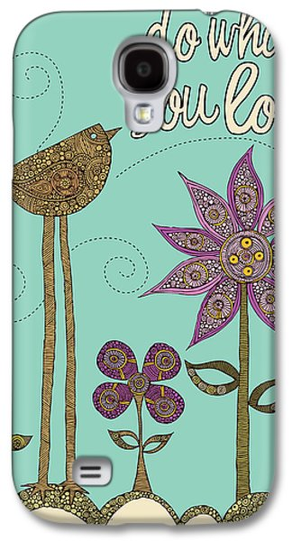 Illustration Photographs Galaxy S4 Cases - Do What Your Love Galaxy S4 Case by Valentina Ramos