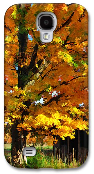 Slavery Galaxy S4 Cases - Door County Yellow Maple Migrant Shack Galaxy S4 Case by Christopher Arndt