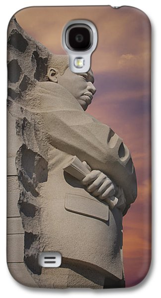 Rights Of Man Galaxy S4 Cases - Dr. Martin Luther King Jr Memorial Galaxy S4 Case by Susan Candelario