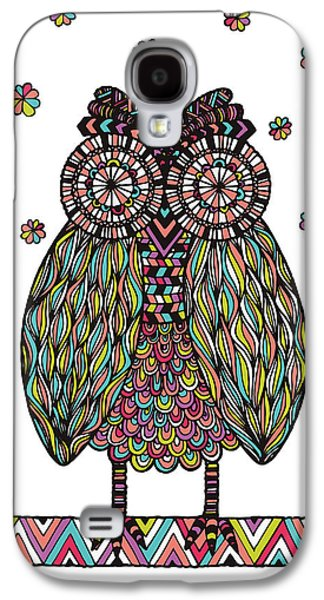 Psychedelic Photographs Galaxy S4 Cases - Dream Owl Galaxy S4 Case by Susan Claire