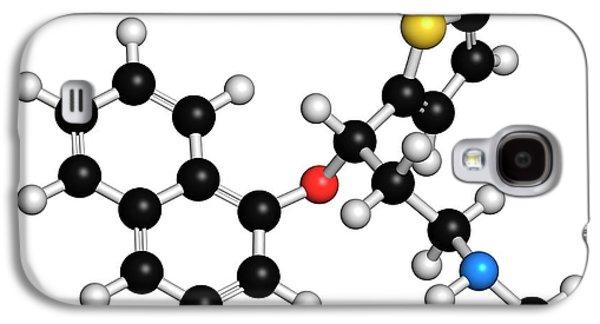 Duloxetine Antidepressant Drug Molecule Galaxy S4 Case by Molekuul