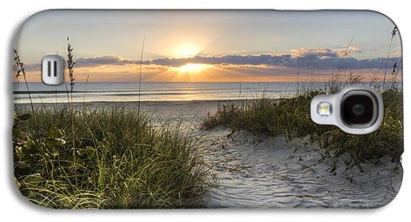 Sanddunes Galaxy S4 Cases - Dune Trail Galaxy S4 Case by Debra and Dave Vanderlaan
